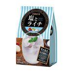 日東紅茶の「塩とライチ」「トロピカルフルーツティー」「フルーツ薫るサングリアノンアルコール」レビュー